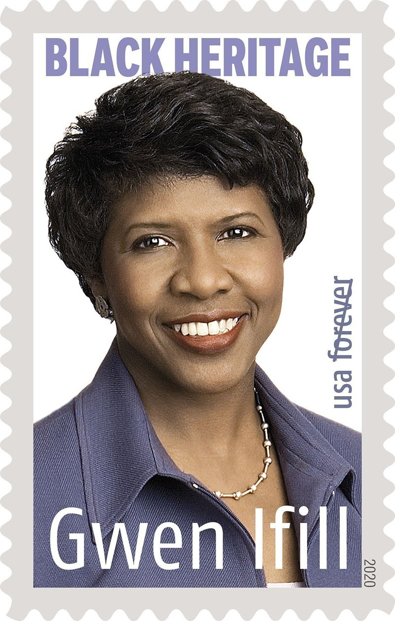 Gwen Ifill USPS Forever Stamp